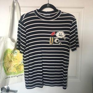 Zara Trafaluc Short-Sleeve Knit Top